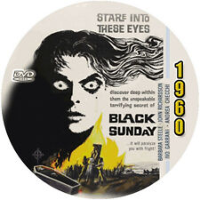 "Black Sunday (1960) Classic Sci-fi and Horror CULT ""B"" NR Movie DVD"