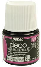 Pebeo Deco GLOSS Multi-Surface Craft & DIY Acrylic Paint 45ml 39 Colours