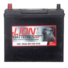 Type 155 Car Battery 300CCA Lion Batteries 45Ah OEM Quality Replacement