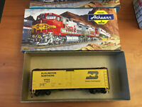 HO SCALE TRAIN FREIGHT CAR MODEL IN BOX ATHEARN WFEX-BN