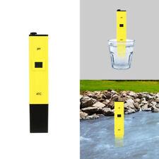 Digital pH Wert Messgerät Wasser PH Tester Meter Prüfer Aquarium Pool SM