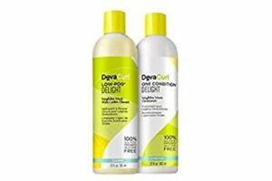 DevaCurl Delight DUO Low-Poo Cleanser 12 oz. & One Condition Conditioner 12 oz.