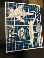 GI Joe 2017 Convention Exclusive Vector X-36 Fighter Jet Battle Force 2000