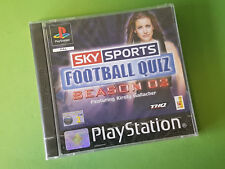 Sky Sports Football Quiz Season 02 Sony PlayStation 1 PS1 Game *NEW & SEALED*