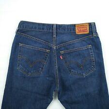 d44f163075 Levis - Straight Leg Button Fly Blue 100% Cotton Denim Jeans Men's Size 31  to