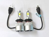 SKODA FABIA 1999+ 2x H7 Kit Car LED Headlight Bulbs PURE WHITE 6500K