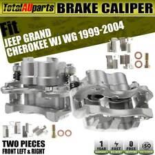 2x Front LH&RH Brake Calipers w/ Bracket for Jeep Grand Cherokee WJ WG 1999-2004