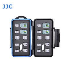 JJC MC-M20 Memory Card Case fits 4 SIM 8 Micro SIM 8 Nano SIM Storage camer