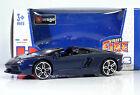 """Bburago 30010 Lamborghini Aventador LP700-4 Roadster """"Met Blu"""" METAL Scala 1:45"""