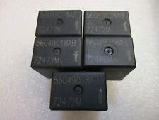 QTY 5 OEM MOPAR Tyco 56049018AB Starter Relay/Relay 72472M , FREE SHIPPING