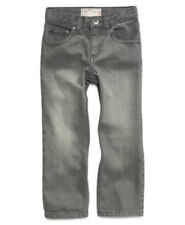 Boys Jeans Epic Threads Denim Pants Straight Fit 5 Pocket Zip Fly Gray 4T NWT