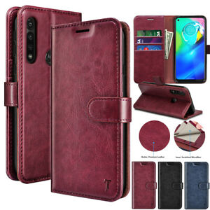For Motorola Moto G stylus /G Power 2020 Magnetic Leather Wallet Flip Case Cover