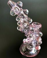 """6"""" New collectible Hookah Water bubbler Pipe glass for Tobacco smoking"""