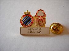 a1 NOTTINGHAM FOREST - BRUGGE cup uefa europa league 1985 spilla football pins