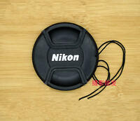 2 PCS New 52mm  Front Lens Cap for NIKON