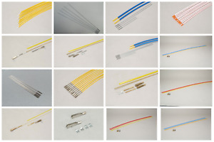 Flexible/Semi-Flexible Snake Control Rod Set & Accessories for RC Model Aircraft