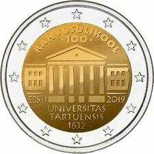 Estland 2019 - Universiteit van Tartu - 2 euro CC - UNC