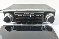 Vintage Upgraded Motorola 114 Classic Car Radio +/- Earth + iPod/mp3 lead