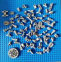 Lego Technik Technic Kleinteile Achs Pins Verbinder Kreuzpin Hellgrau 80 st. (11
