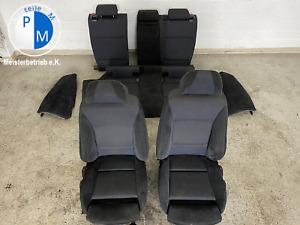 BMW 3er E91 M Paket Alcantara Stoffsitze Sitze UK Version Komplett Vorne+Hinten