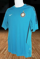 New NIKE  INTER MILAN FOOTBALL Training Pre Match Shirt Turquoise M