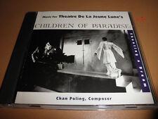 CHILDREN OF PARADISE musical CD Theatre De La Jeune Lune CHAN POLING composer