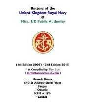 Book • Burt • Uniform Buttons • UK • R.N. & Related Pub' Authority • 150916001E
