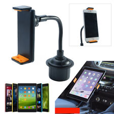 Universal 360° Car Cup Holder Mount For 4'' - 12'' iPad Tablet Phone Adjustable