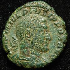 More details for philip i arab ae as felicitas temp s c, rome mint 245ad - ric 169b - scarce