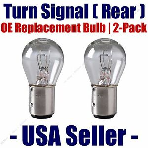 Rear Turn Signal Light Bulb 2pk - Fits Listed Dodge Vehicles - 1034