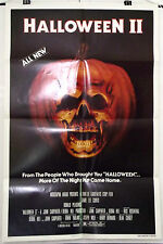 HALLOWEEN II - JAMIE LEE CURTIS / MICHAEL MYERS - ORIGINAL USA 1SHT MOVIE POSTER