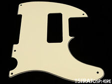 *NEW Cream P-90 Telecaster PICKGUARD for USA Fender Tele P90 5 Hole Ply