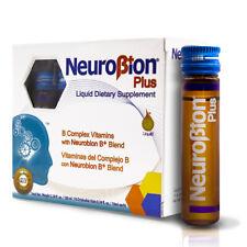 NEUROBION PLUS B ✅COMPLEX VITAMINS 10 Drinkable Vials - VITAMINAS COMPLEJO B