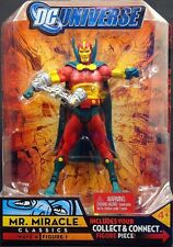 "2008 MATTEL DC UNIVERSE CLASSICS WAVE 6 FIGURE 1 MR. MIRACLE 6"" FIGURE MOC"