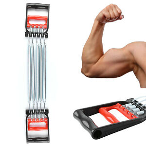 5 Spring Chest Expander Straps Pull Rope Belt Stretcher Muscle Chest Excerciser