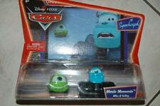CARS DISNEY BI-PACK MIKE & SULLEY BLISTER SUPERCHARGED
