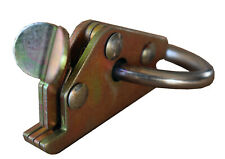 Kombi - Zurrschienen Endbeschlag mit Ring für Zurrgurt und Haken