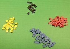 Mini Jump 2.54mm Jumpers Green & Blue Shunts Short for Pin Header x 30pcs MIXED