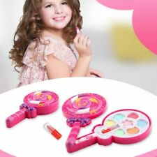 Kids Girl Princess Makeup Cosmetic Suit Toys Box Bag Pretend Play for Travel New