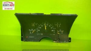 92 93 CHEVY 1500 5.7L AT EXT CAB SPEEDOMETER CLUSTER 198157 MILES OEM 2115-1