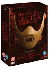 Anthony Hopkins, Edward Norton-Hannibal Lecter Trilogy  (UK IMPORT)  DVD NEW