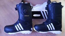 Adidas Acerra Adv Snowboard Boots Core Black/White - UK Size 11.5 - Double Boa
