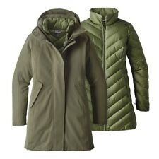 Brand New Patagonia Women's Tres 3-In-1 Parka - Industrial Green - XS