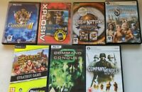 7x PC Strategy Games Bundle Joblot | Company of Heroes | Command & Conquer etc