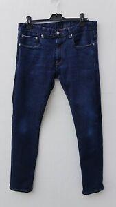 Fantastic SKA & SOUL Mens' Slim/Skinny Dark Wash Blue Jeans size 36L / W36 x L34