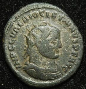 Diocletian BI antoninianus IOV ET HERCV CONSER AVGG, Antioch 290-294AD - RIC 323