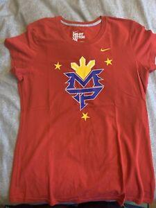 Women's Nike Manny Pacquiao Tee Shirt Large L