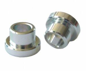 KIND SHOCK Alu Buchse Auge Dämpfer 12mm Bohrung 8mm Paar für 22,2mm