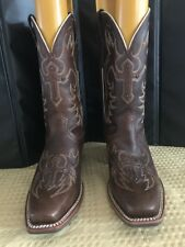 Ariat Advanced Torque Stability Brown Leather Size 10B