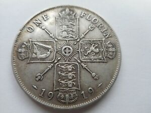 1919 George V Florin Coin